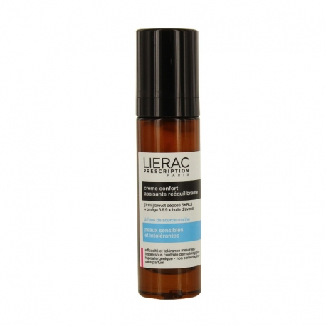 LIERAC PRESCRIPTION CREMA CONFORT CALMANTE REEQUILIBRANTE 40 ML