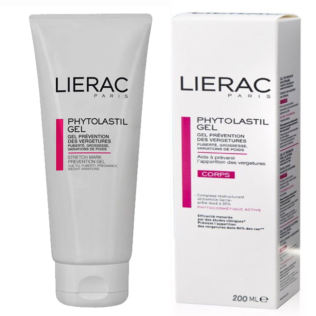 LIERAC PHYTOLASTIL GEL CREMA ANTI ESTRIAS 200 ML