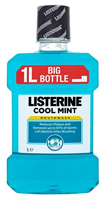LISTERINE ANTISEPTICO BUCAL COOLMENT 1000 ML