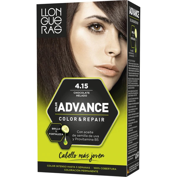 LLONGUERAS COLOR ADVANCE TINTE 4.15 CHOCO HELADO