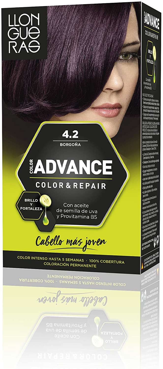 LLONGUERAS COLOR ADVANCE TINTE 4.2 BORGOÑA