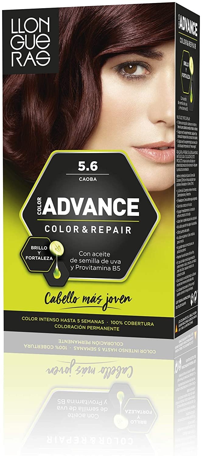 LLONGUERAS COLOR ADVANCE TINTE 5.6 CAOBA