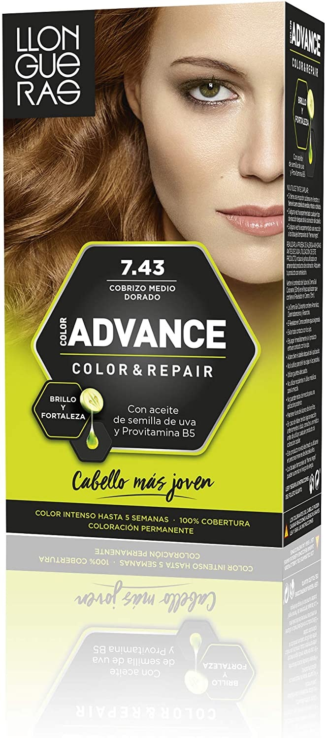 LLONGUERAS COLOR ADVANCE TINTE 7.77 MARRON GLACE