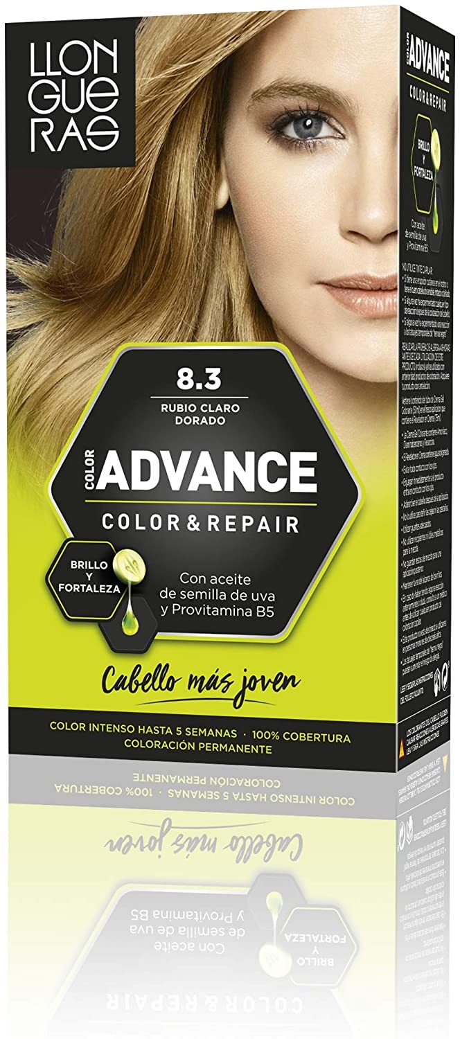 LLONGUERAS COLOR ADVANCE TINTE 8.3 RUBIO CLARO DORADO