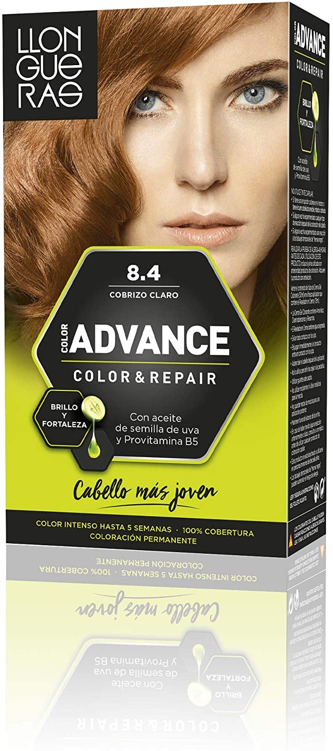 LLONGUERAS COLOR ADVANCE TINTE 8.4 COBRIZO CLARO
