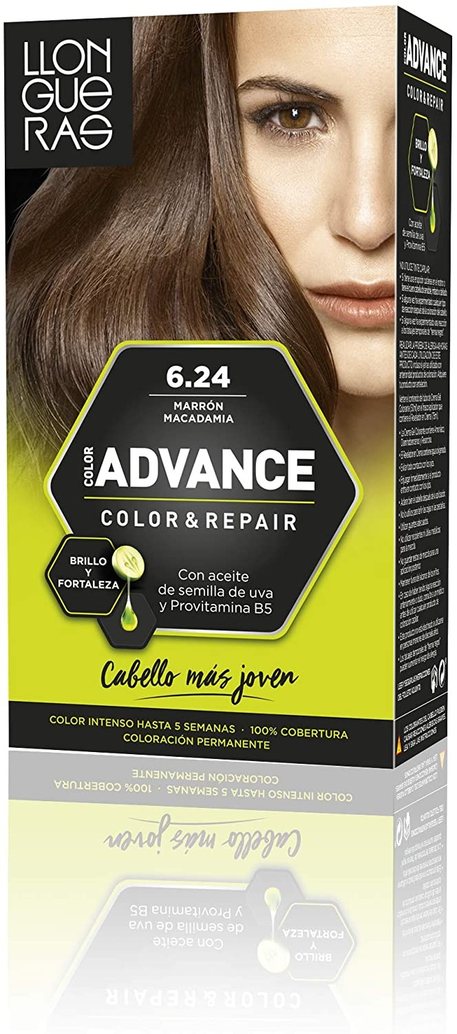 LLONGUERAS COLOR ADVANCE TINTE 6.24 MARRON MACADAMIA