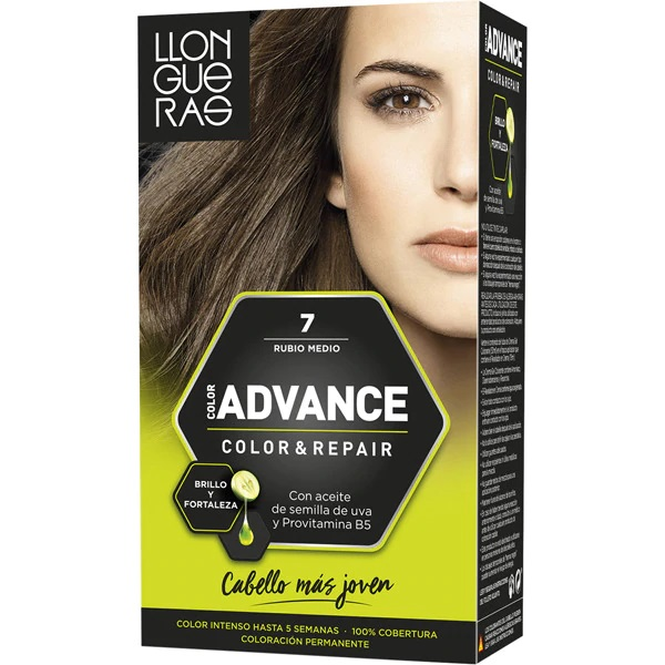 LLONGUERAS COLOR ADVANCE TINTE 8 RUBIO CLARO
