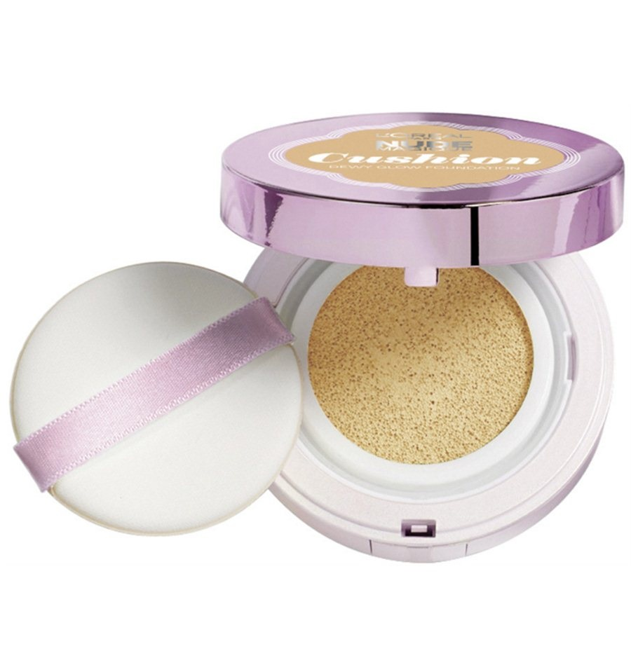 L\'OREAL NUDE MAGIQUE CUSHION FOUNDATION 06 ROSE BEIGE 14.6 GR