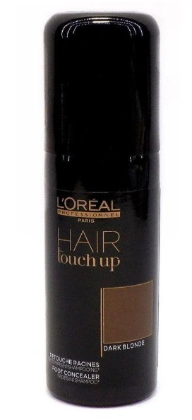 L\'OREAL HAIR TOUCH UP DARK BLOND SPRAY CORRECTOR DE RAICES RUBIO OSCURO 75 ML