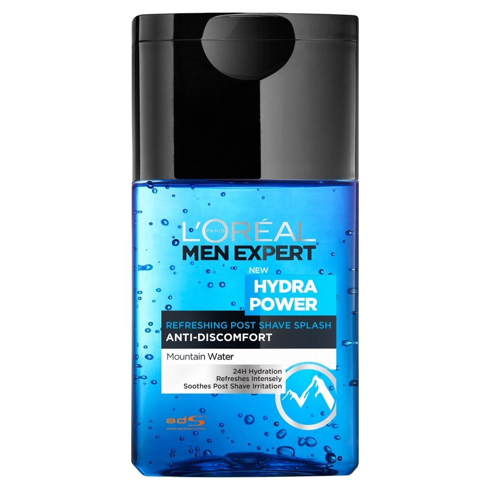 L´OREAL MEN EXPERT HYDRA POWER LOCION REFRESCANTE POST-SHAVE 125 ML