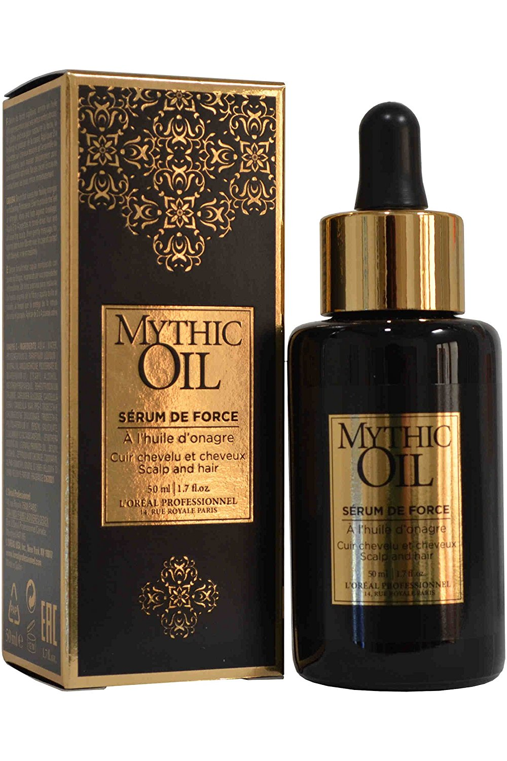L\'OREAL MYTHIC OIL SERUM FORTALECEDOR CAPILAR 50 ML