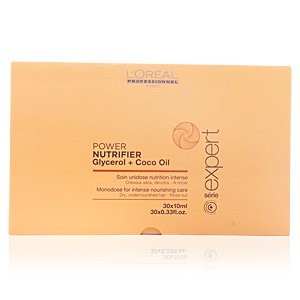 L´OREAL RECONSTRUCTOR INSTANTEO  POWER NUTRIFIER GLYCEROL + COCO OIL 30 X 10 ML