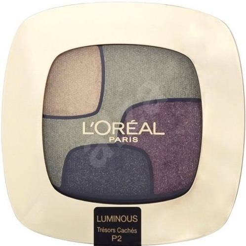 L\'ORÉAL QUAD COLOR RICHE TRESORS CACHES P2