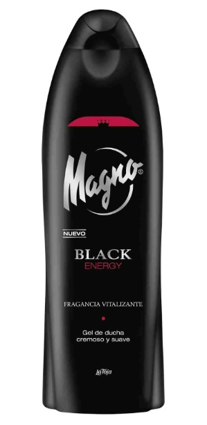 MAGNO GEL DUCHA BLACK ENERGY 550 ML