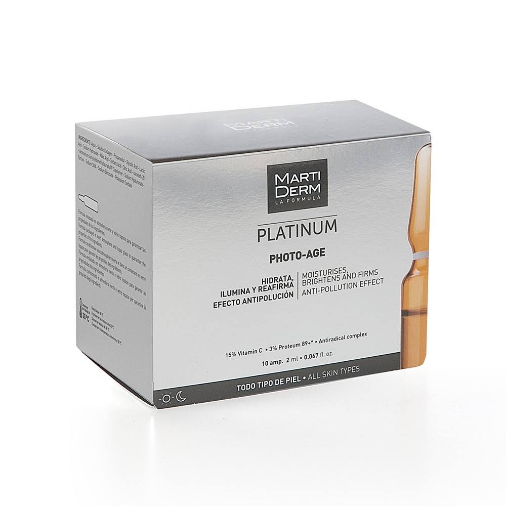 MARTIDERM PLATINUM PHOTO AGE 30 AMPOLLAS