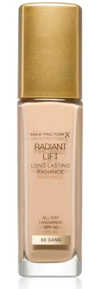 MAX FACTOR RADIANT LIFT BASE MAQUILLAJE 060 SAND 30ML