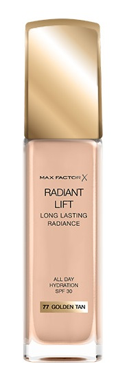 MAX FACTOR RADIANT LIFT BASE MAQUILLAJE 077 GOLDEN TAN 30ML