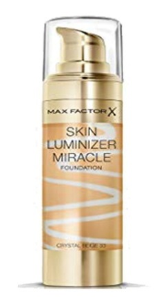 MAX FACTOR SKIN LUMINIZER MIRACLE 33 CRYSTAL BEIGE 30 ML