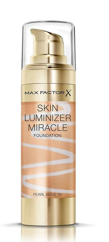 MAX FACTOR SKIN LUMINIZER MIRACLE 35 PEARL BEIGE 30 ML