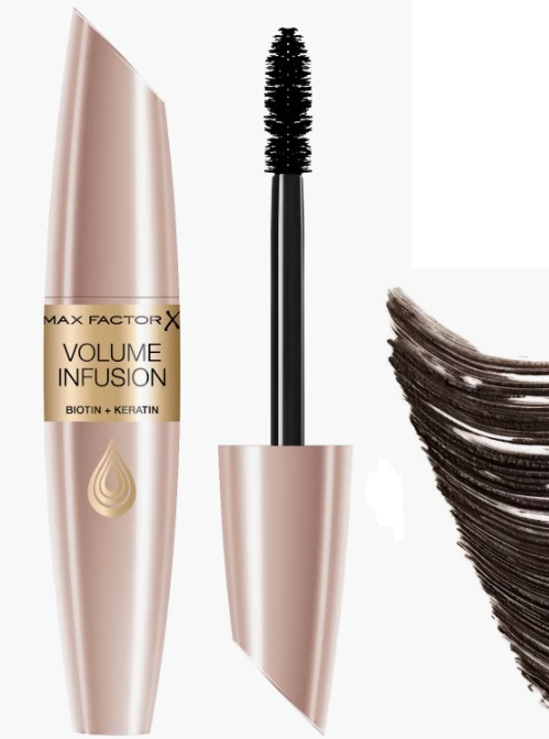 MAX FACTOR VOLUME INFUSION MASCARA BLACK/BROWN 13 ML