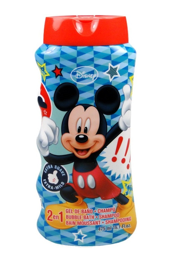 MICKEY GEL DUCHA & CHAMPÚ 2 EN 1 475 ML