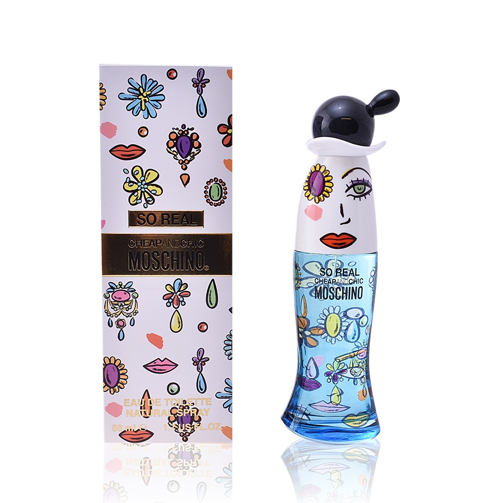 MOSCHINO CHEAP & CHIC SO REAL EDT 50 ML