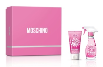 MOSCHINO PINK FRESH COUTURE EDT 30 ML + B/L50 ML SET REGALO