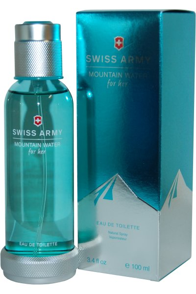 SWISS ARMY MOUNTAIN WATER FOR HER EDT 100  ML VP.