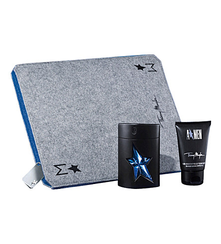 THIERRY MUGLER A*MEN EDT 50 ML + S/GEL 50 ML + FUNDA IPAD MUGLER SET REGALO