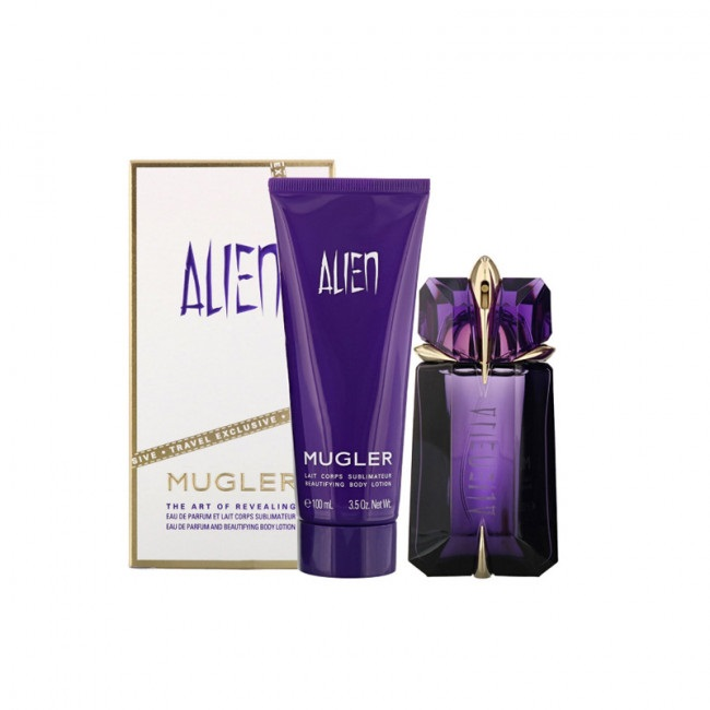 THIERRY MUGLER ALIEN EDP 60 ML + BODY LOTION 100ML SET REGALO