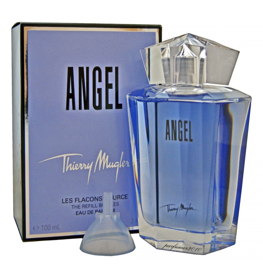 1b0699fbc43c THIERRY MUGLER ANGEL EDP 100 ML RECARGA. Sello de Garantía