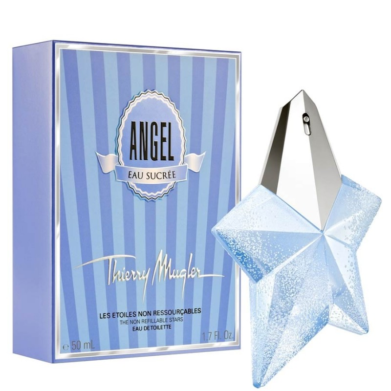 Thierry mugler angel eau sucre eau de toilette 50 ml for Thierry mugler miroir des secrets