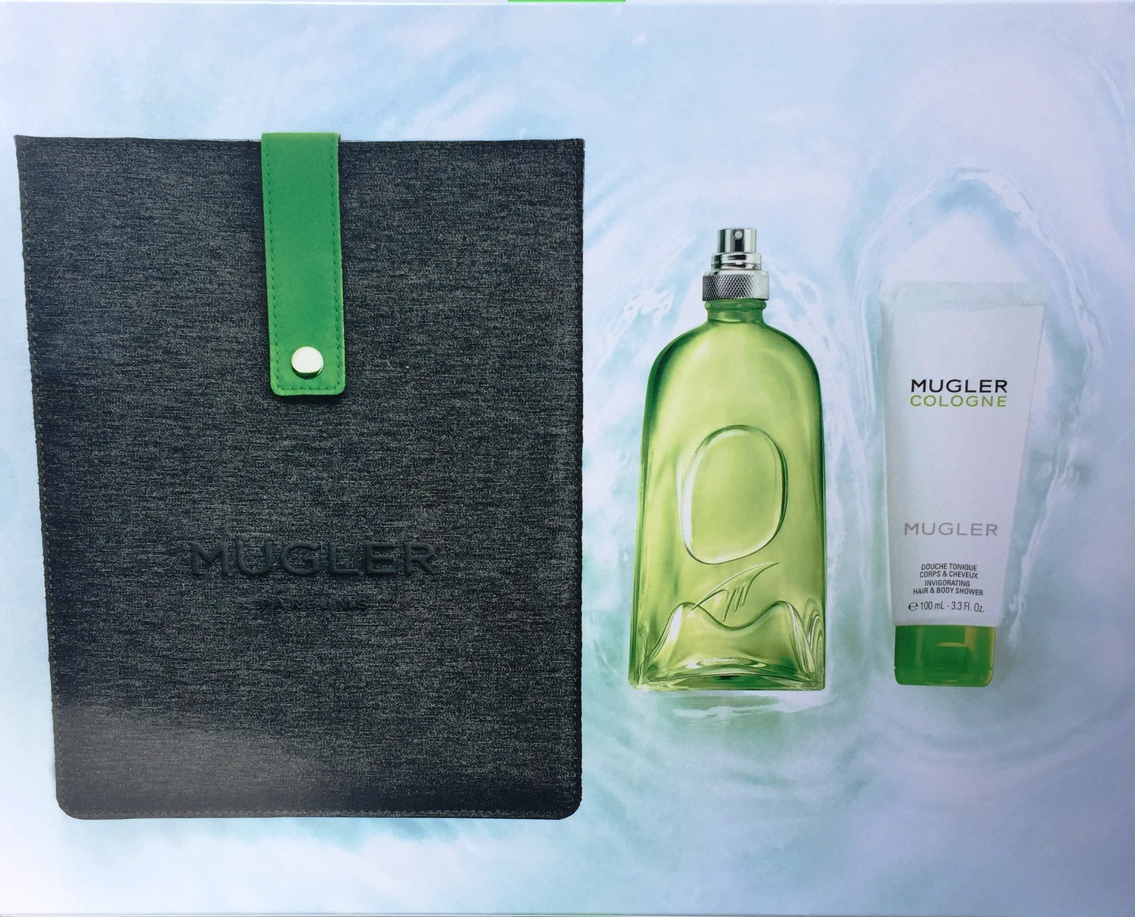 THIERRY MUGLER COLOGNE EDT 300 ML + GEL 100 ML + NECESER SET REGALO