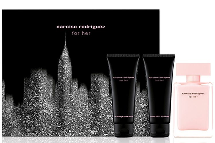 NARCISO RODRIGUEZ EDP 50 ML + B/L 50 ML + GEL 50 ML SET REGALO