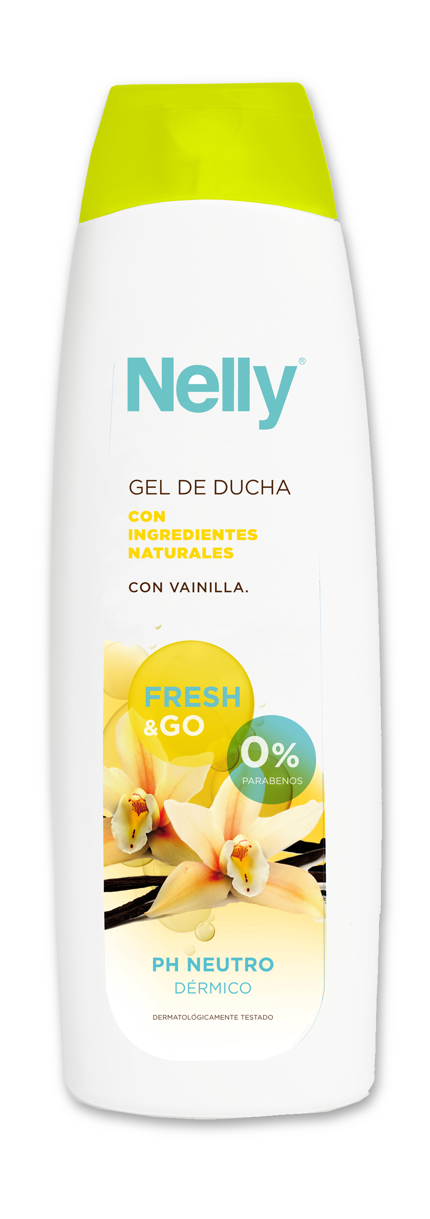 NELLY GEL DE DUCHA VAINILLA 600ML