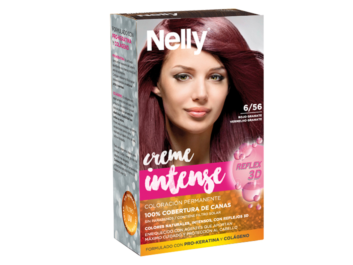 NELLY SET TINTE 6/56 ROJO GRANATE