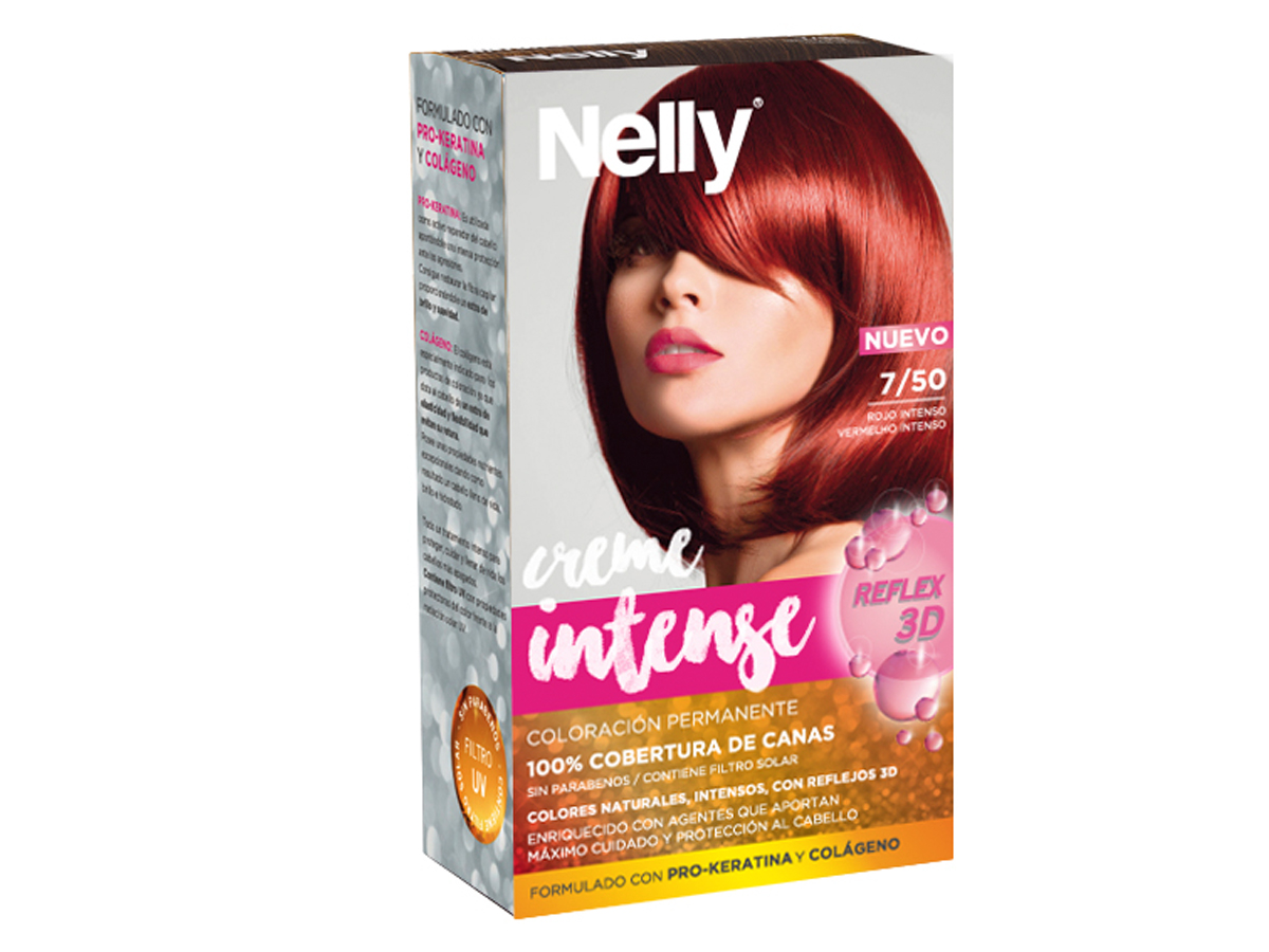 NELLY SET TINTE 7/50 ROJO INTENSO