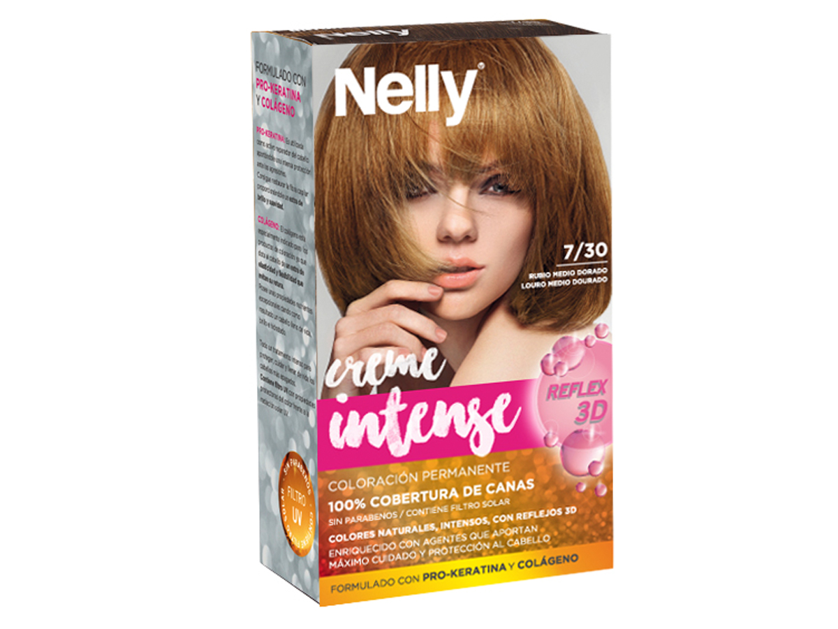 NELLY SET TINTE 7/30 RUBIO MEDIO DORADO