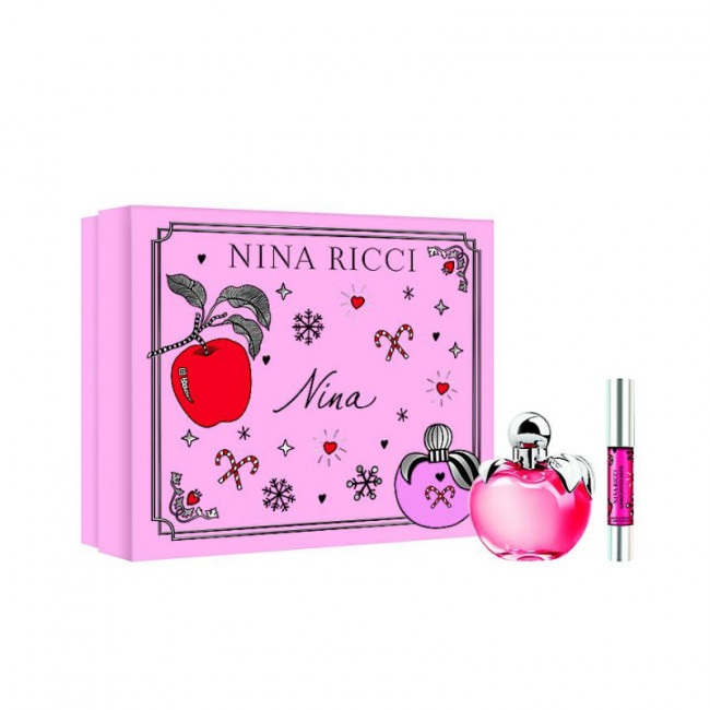 NINA RICCI NINA EDT 50 ML + 2,5 ML SET REGALO