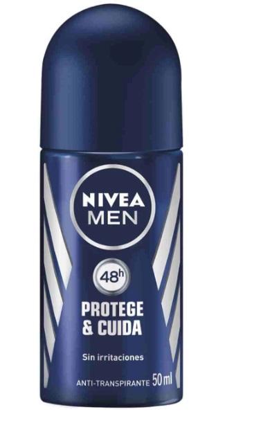 Nivea Men Protect Care Desodorante Roll On 50 Ml
