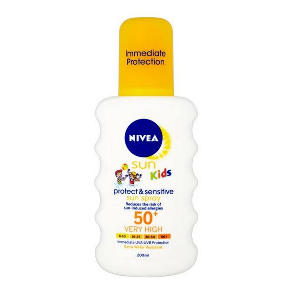 NIVEA SUN KIDS PURE SENSITIVE CREMA SOLAR ESPECIAL NIÑOS SPF 50 + 200 ML