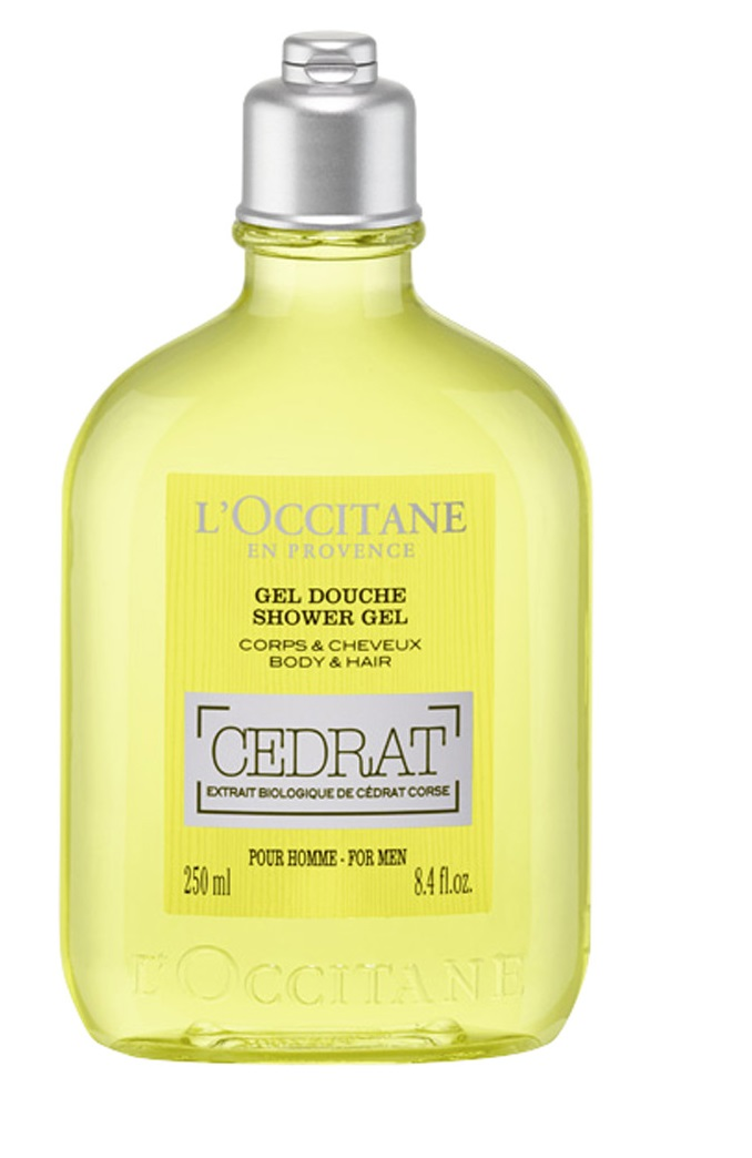 L\'OCCITANE EN PROVENCE EAU DE TOILETTE CÉDRAT SHOWER GEL 250 ML