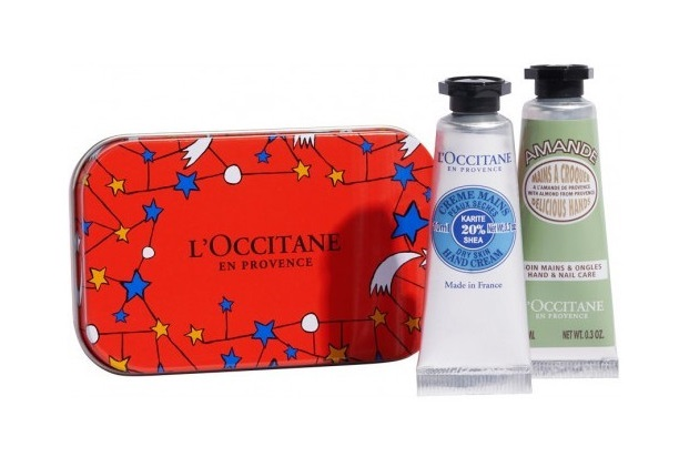 L\'OCCITANE EN PROVENCE  CREMA MANOS KARITÉ 10 ML + CREMA MANOS ALMENDRA 10 ML SET REGALO
