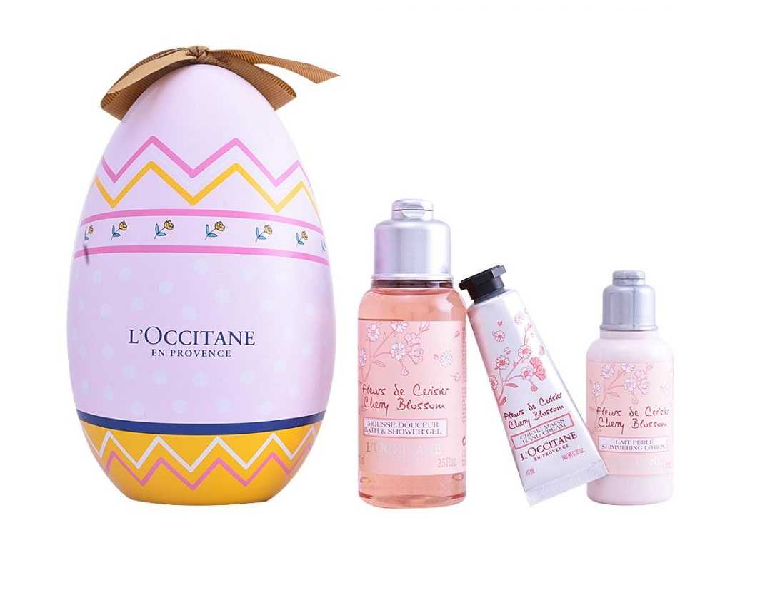 L\'OCCITANE EN PROVENCE FLOR CEREZO LOCIÓN CORPORAL 35 ML + GEL DUCHA 75 ML + CREMA MANOS 10 ML SET REGALO