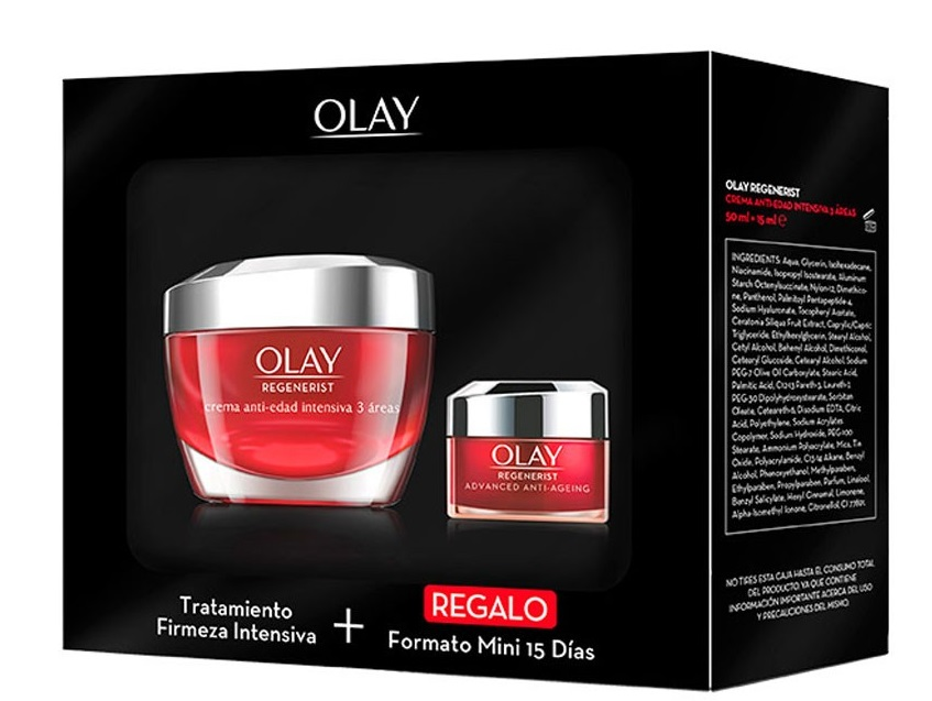 OLAY REGENERIST 3 AREAS DE CUIDADOS CREMA  50 ML  + MINI 15 ML SET REGALO