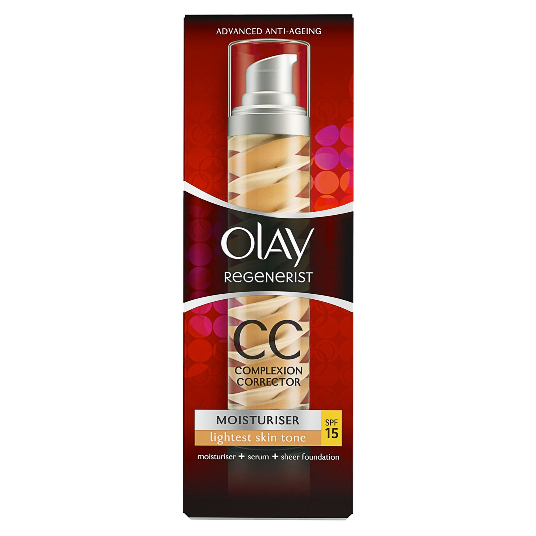 OLAY REGENERIST CC CREAM COMPLEXION 50 ML COLOR FAIR SPF 15