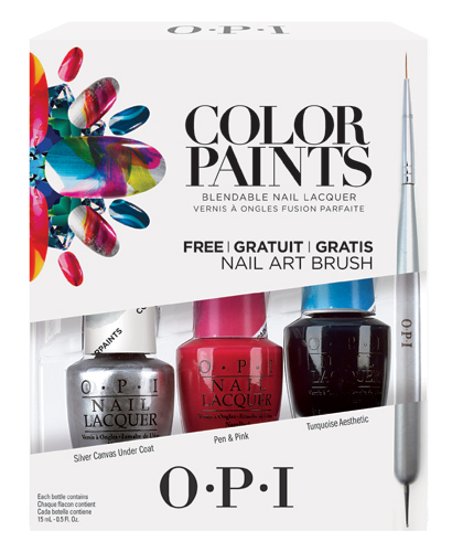 Opi color paints art tool set regalo que se compone de - Decorador de unas ...