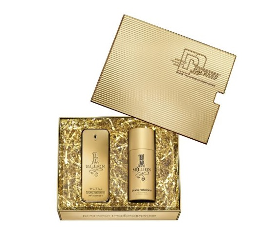 PACO RABANNE 1 MILLION EDT 100 ML + DEO VAPO 150 ML SET REGALO