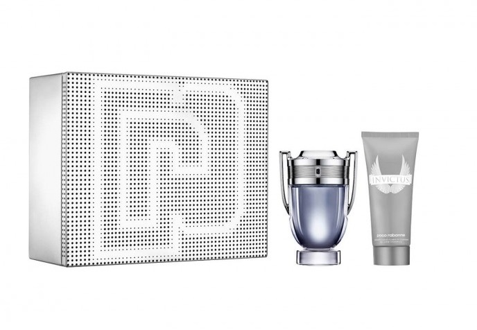 PACO RABANNE INVICTUS EDT 100 ML +  S/GEL 100 ML SET REGALO