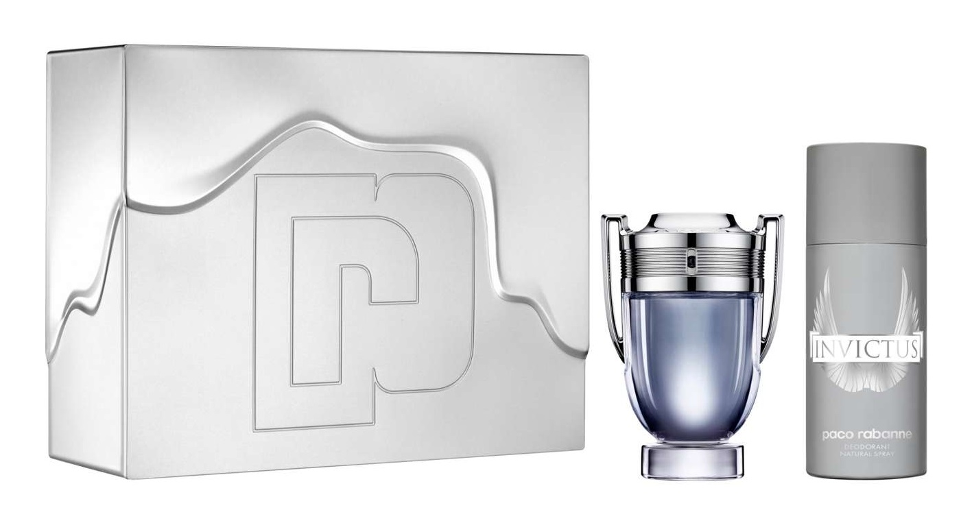 PACO RABANNE INVICTUS EDT 100 ML + DEO VAPO 150 ML SET